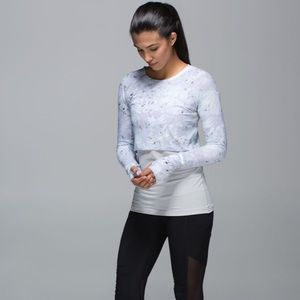 Lululemon Run: Sea-Me Run Long Sleeve